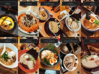 外国人「10日間の東京旅行で食べたラーメン10杯を見てくれ!」