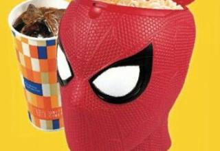 【悲報】スパイダーマンの映画館で売られているポップコーンがめちゃくちゃ怖い
