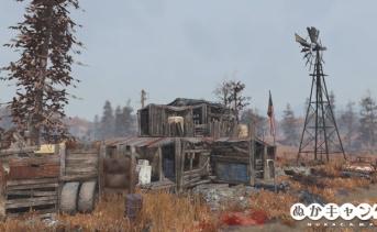 密造者の小屋(Bootlegger's shack)