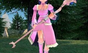 ピンク色!隠遁者のスタッフ