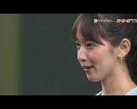 【朗報】吉岡里帆さんのノーバン未遂始球式、全男性をニンマリさせるww