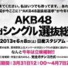 AKB選抜総選挙の順位予想 in モ娘(狼)