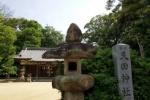 どなたかお忘れですよ!私市の『天田神社』でサングラスお忘れですよ!