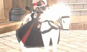 ホワイトホース(エンチャじゃない)とグレースハートクイーンの衣装