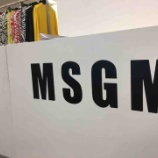『MSGM 2019 SPRING&SUMMER COLEECTION』の画像
