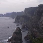 2010 ベストツーリングポイント 威圧感すら覚える迫力の断崖美 北山崎
