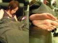 【画像】平野綾の足裏wwwwwwwwwwww