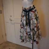 『DUAL VIEW(デュアルヴュー)ボタニカルプリントスカート』の画像