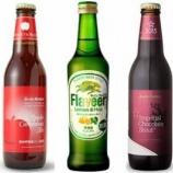 『【社会】若者のビール離れを阻止したい…果物などの風味を付けた甘い「フレーバービール」が人気』の画像