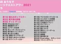 チームB「おうちでリクアワ2021(2010〜2011年楽曲)」順位まとめ