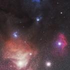 『さそり座のアンタレス付近の散光星雲(カラフルタウン)』の画像