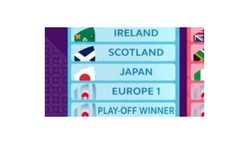 【ラグビーW杯】日本はアイルランド、スコットランドと同組、海外から日本に期待する声が続出
