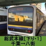 『総武本線 車窓[下り・1]千葉→八街』の画像