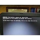 『バッテリーエラーで起動できないノートパソコンの修理』の画像