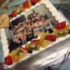 梅田彩佳のママからの差し入れのケーキがすごい・・・