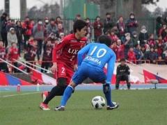【 動画 】内田篤人は後半36分までプレー!鹿島が水戸に逆転勝ち