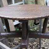 『樽のテーブル』の画像
