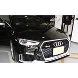 『【スタッフ日誌】Audi RS3セダンにYupiteru SUPER CAT Z995Csdを装着させて頂きました』の画像