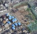 台風で倒れた鉄柱の撤去作業終わる 予定より1ヶ月以上早く