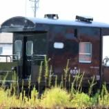 『保存貨車 ヨ8000形ヨ8591』の画像