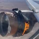 【動画】米国、飛行中のユナイテッド航空ボーイング777のエンジンが爆発、炎上!その瞬間