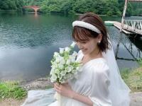 【乃木坂46】山下美月のウエディングドレス姿が凄すぎる...!!!