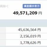 『【運用状況】2017年7月の資産総額は4957万円でした!』の画像