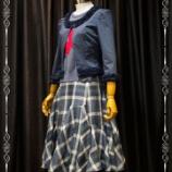 『新作切り替えフレアースカート完成。』の画像