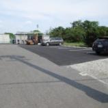 『愛知県稲沢市 工場駐車場 アスファルト舗装工事 施工事例』の画像
