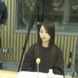 『【乃木坂46】放送事故・・・佐々木琴子、ANNで固まる・・・』の画像