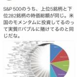 『S&P500に投資すれば間違いない?では、実際のポートフォリオを見たことがありますか?』の画像