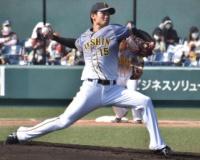 阪神ドラ1西純也(2軍) 防3.90 3勝 2敗 32.1回 22四球 21奪三振