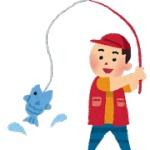【画像】涼しいから釣りするwwwイソメつけて投げるwww