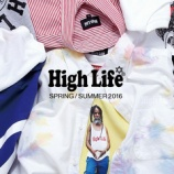 『High Life 2016 S/S 第2弾リリース!』の画像
