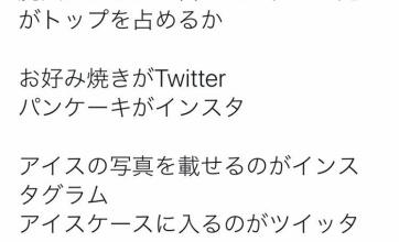 【クソワロ】「インスタとツイッターの違いをざっくり説明する選手権の結果」wwwwwww