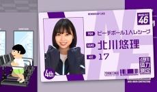 【乃木坂46】4期生の北川悠理のキャラ、かっちり決まったな!