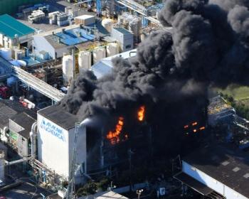 静岡・荒川化学工業富士工場で爆発 有毒ガスも発生(画像あり)
