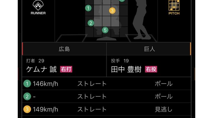 【悲報】今日の巨人・田中豊樹の投球内容…