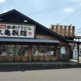 『今日のお昼ご飯 丸亀製麺 稲沢店』の画像