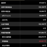 『2020年3月23日週(105週目)でのFXプライム累計スワップは66,554円になりました。』の画像
