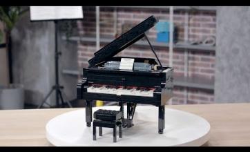 自動演奏ができる大人のレゴ「グランドピアノ」が登場!!色々すごすぎるだろこれ