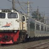 『定期列車にも変化あり!Luxury2連結の特急Argo Dwipanga!!』の画像