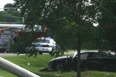 電気自動車テスラ「モデルS」が事故ったら、町中が停電する事態に 尚、ドライバーは女で飲酒運転
