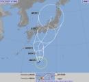 【速報】台風12号さんの予想進路がこちら
