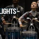 『【WGI】ドラム大会ハイライト! 2019年パーカッション世界大会インデペンデント・ワールドクラス『ハイライト・リール』大会抜粋動画です!』の画像