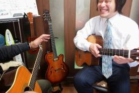 金澤ギタースクールでEmを習ってみた!