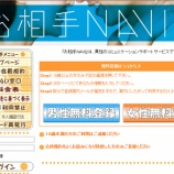 『お相手NAVI/サクラ出会い系サイト評価』の画像