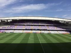【 画像 】日本代表×UAE戦の試合会場となるスタジアムが24年前と比べメチャクチャ立派になってるw