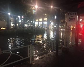 【天気】東京・杉並区阿佐ヶ谷、大雨でとんでもないことに(画像あり)
