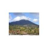 『磐梯山も初冠雪』の画像
